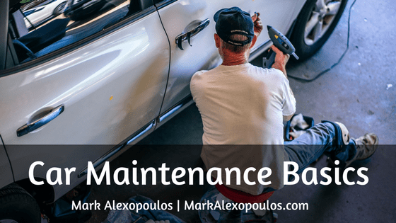 Car Maintenance Basics | Mark Alexopoulos